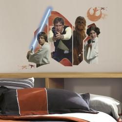 Naklejka dekoracyjna Star Wars